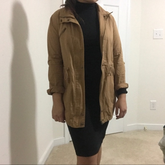 Forever 21 Jackets & Blazers - Forever 21 tan utility jacket